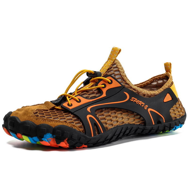 Hot Sale OEM Stream Trekking Shoes Customized Comfy Hiking Shoes