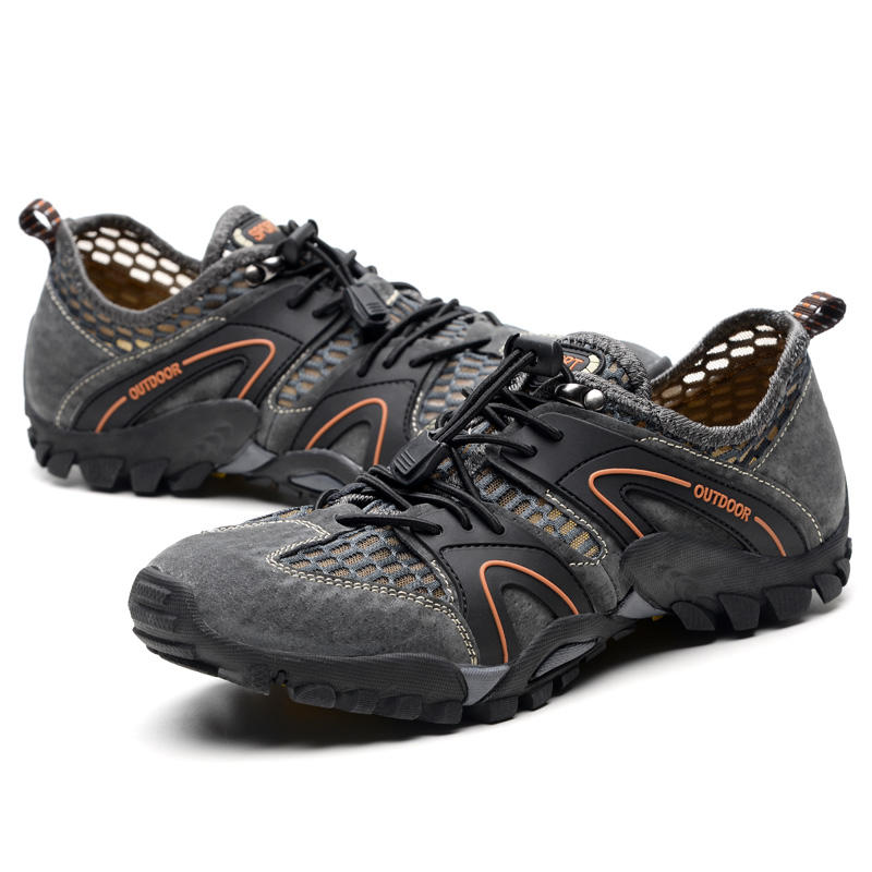 Hot Sale OEM Lightweight Hiking Shoes Customized Stream Trekking Shoes With Low Price