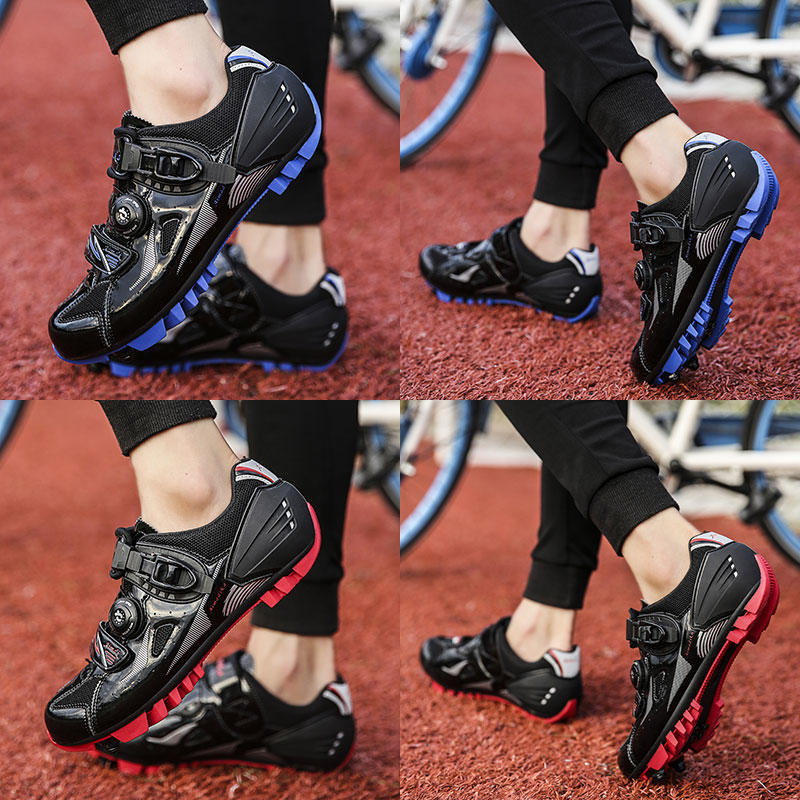 OEM mountain bike cycling shoes customized for bike racing-3