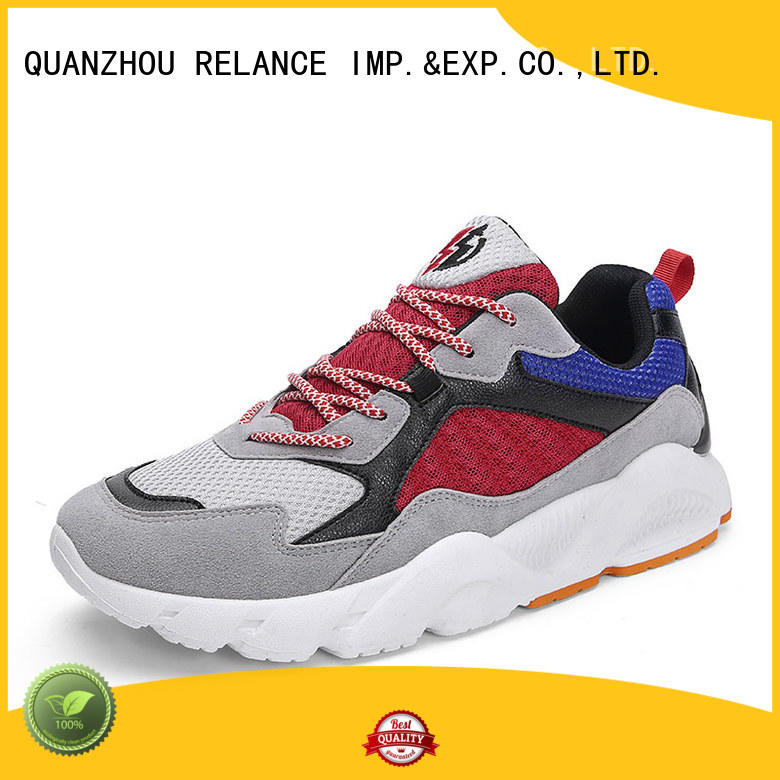 knit fabric upper boys running shoes manufacturer for all seasons