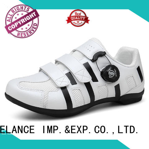 breathable ladies road bike shoes customized for bike racing