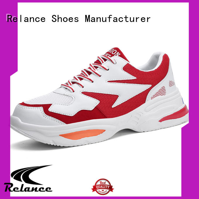breathable cushioned running shoes supplier for jogging